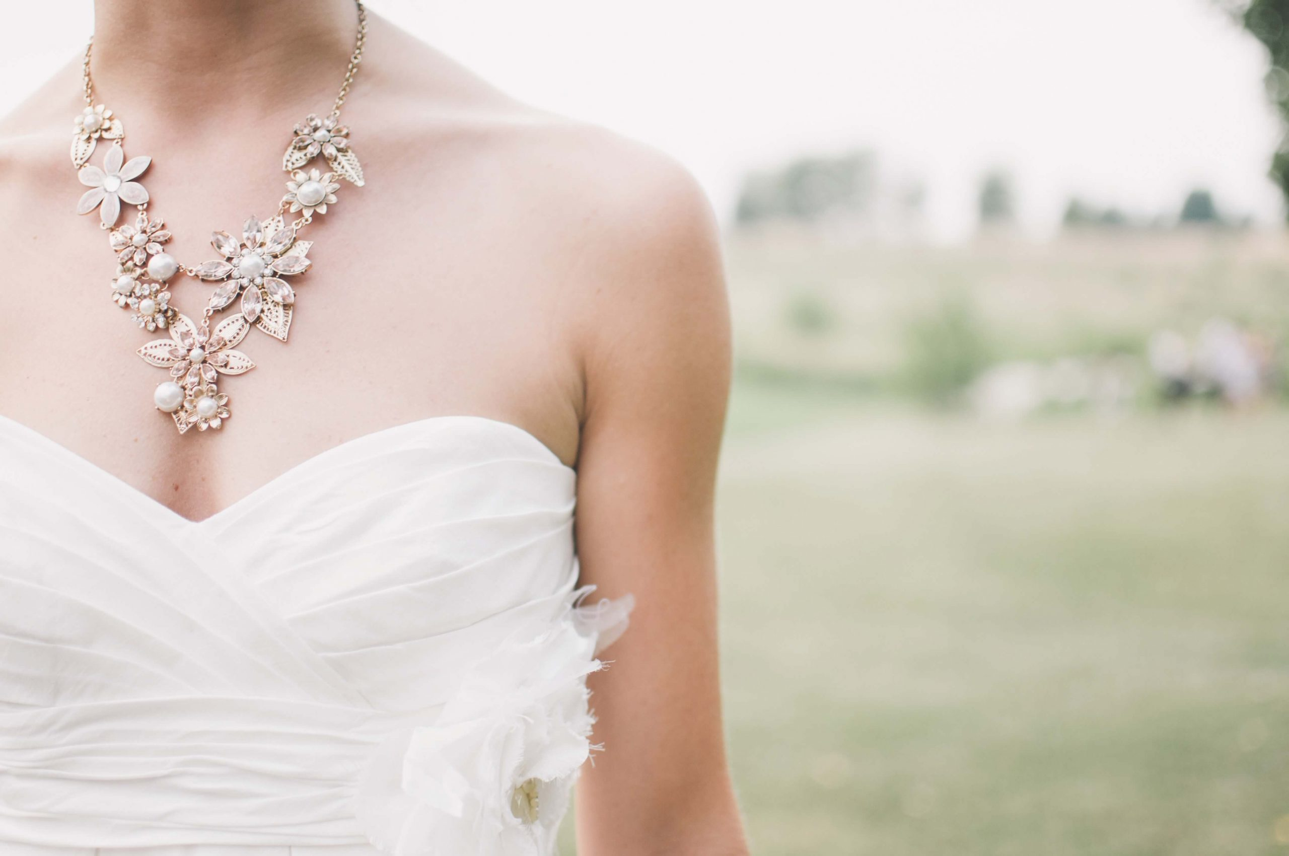 Perfect Wedding Dress and Accessories